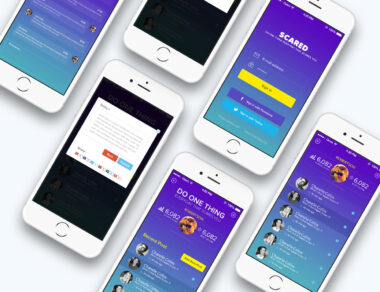 Mobile App Design for Scared
