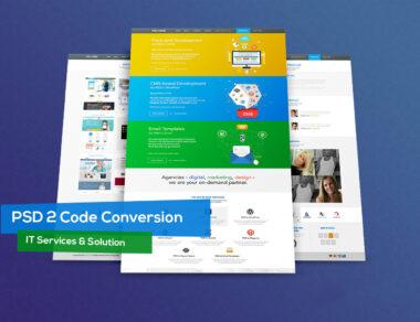 Website Design for PSD 2 CODE