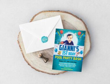 Flyer Design for Gianni's Birthday